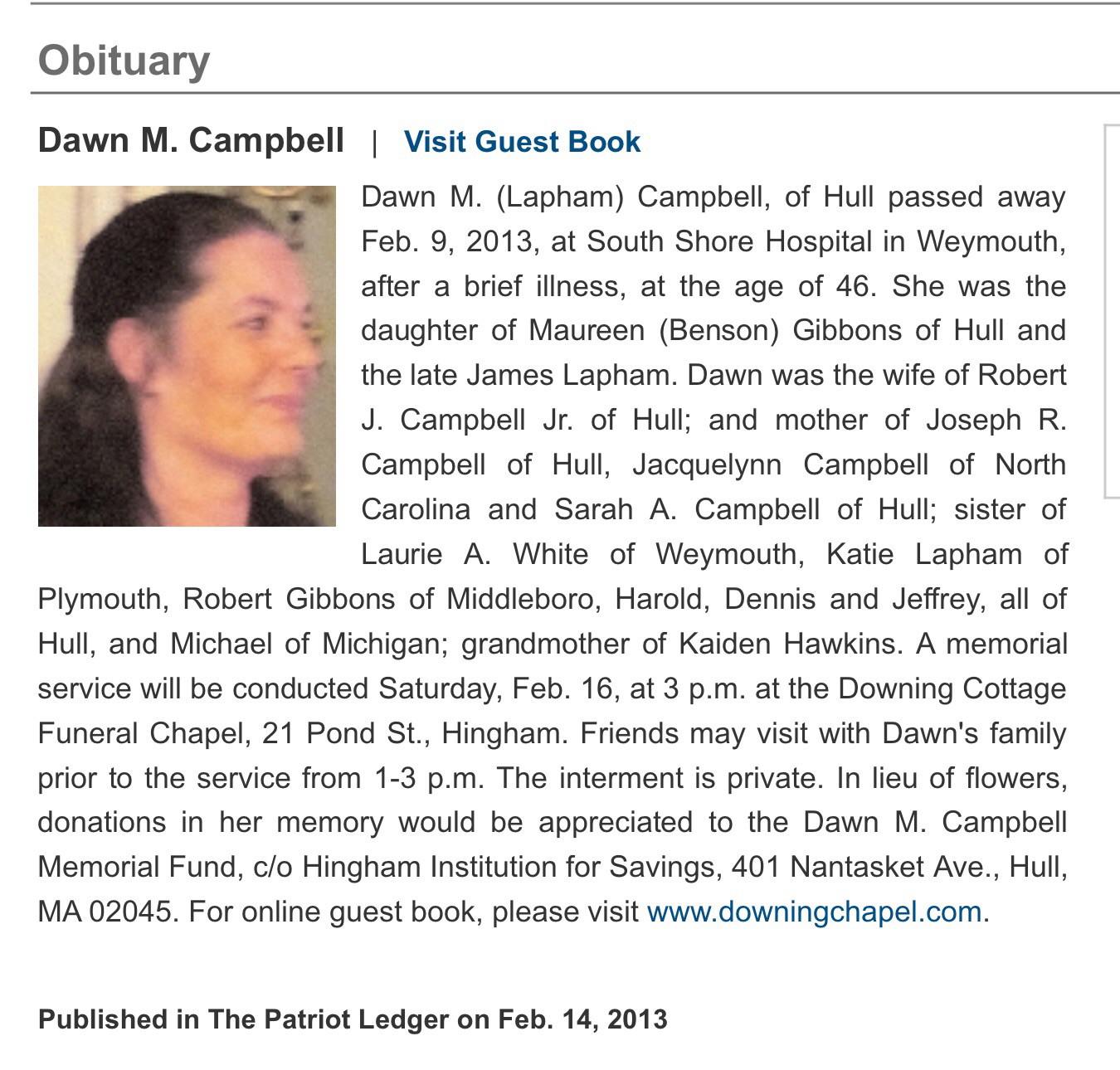 Dawn Marie Campbell