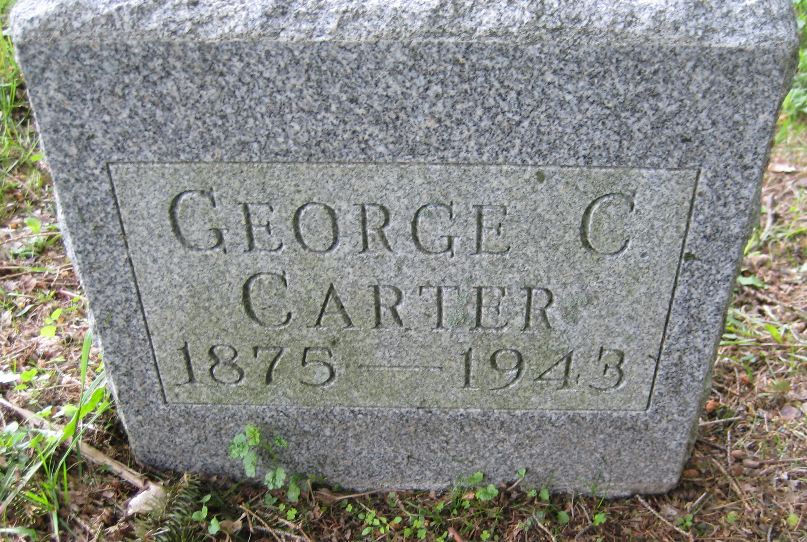 George Christopher Carter