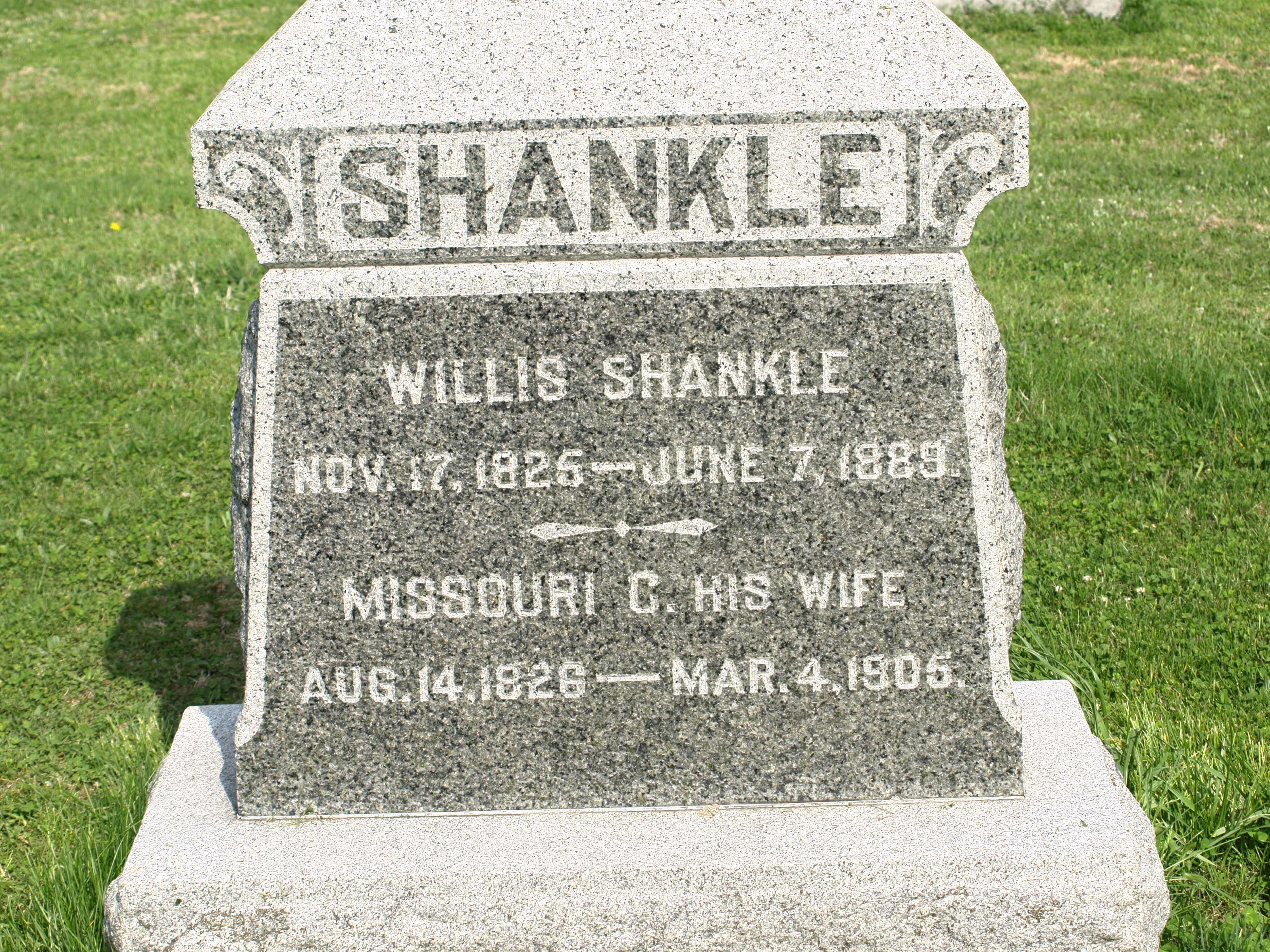 Shankle, Willis