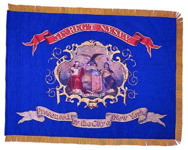 51st NY Volunteer Regimental Colors
