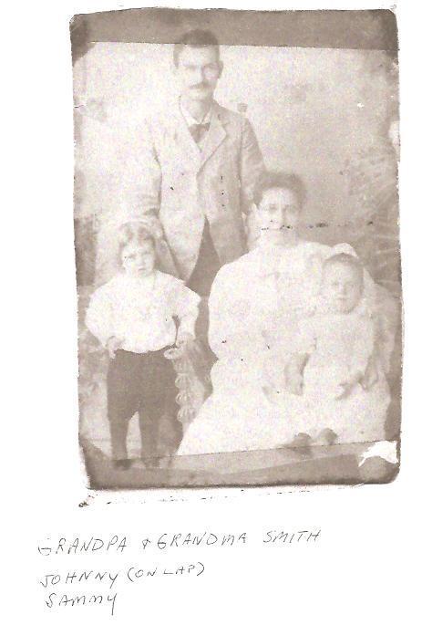 Grandpa & Grandma Smith