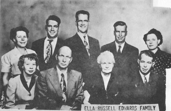 Curtis S. & Ella M. (Dockstader) Russell Family