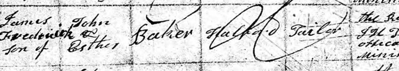 Ancestry.com - Warwickshire, England, Baptisms, 1813-1910 - James F Baker