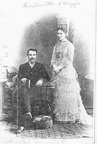 Thornton Latta and Maggie