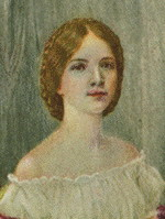 Sarah Lavinia Perkins Portrait from locket