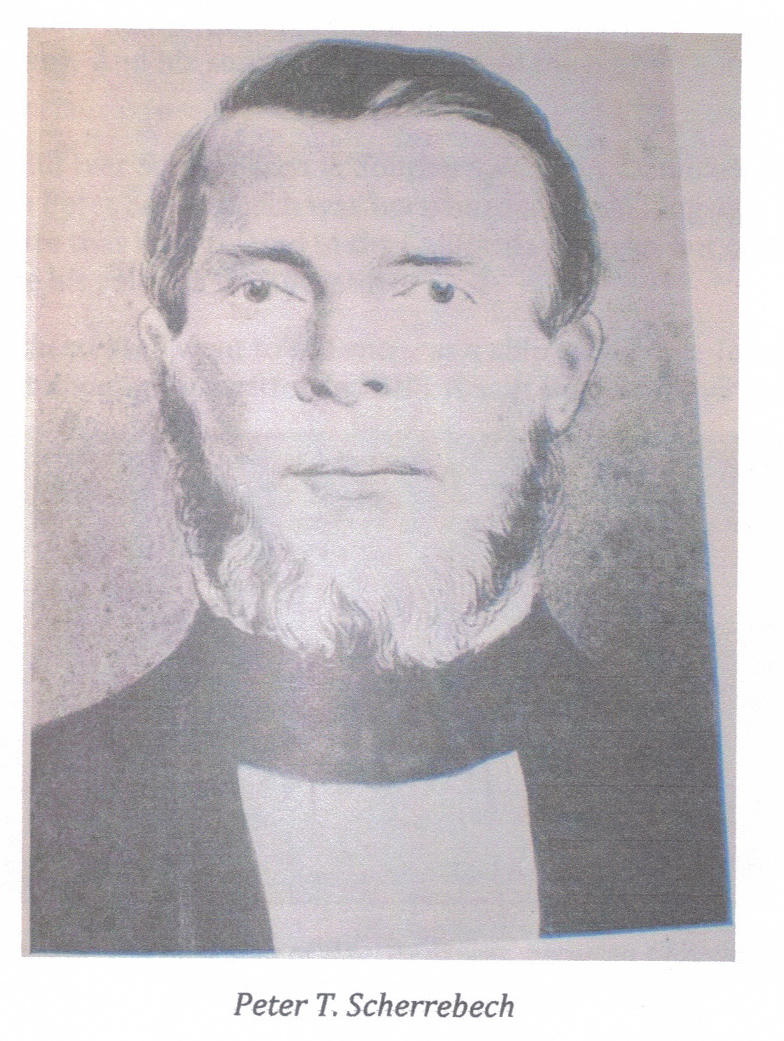 Peter Thomas Sherreback about 1850's
