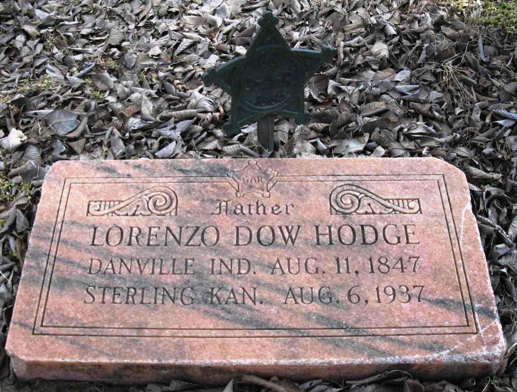 Hodge, Lorenzo Dow