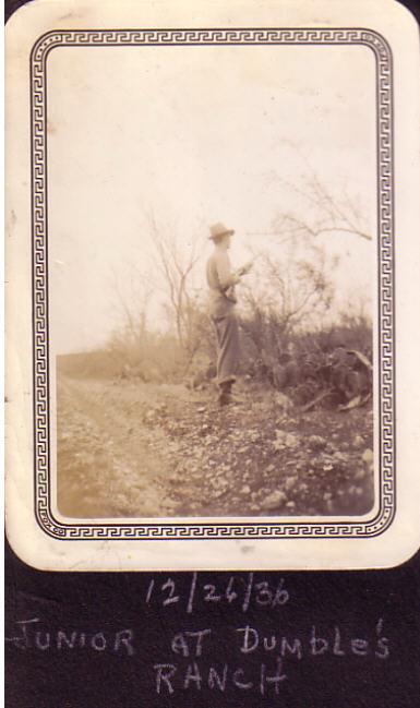 George Jr at Dumble's Ranch
