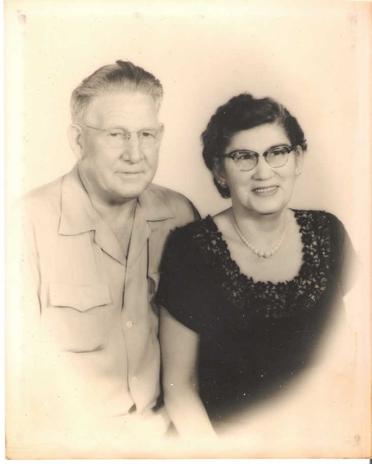 Della Ida Aldridge and Roy Lee McGee