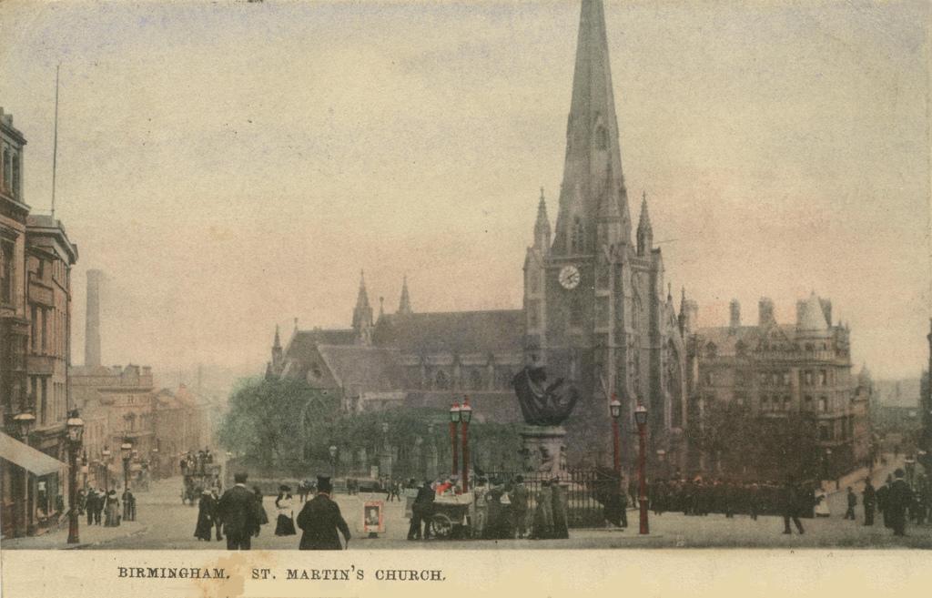 St Martin, Birmingham John and Esther Baker