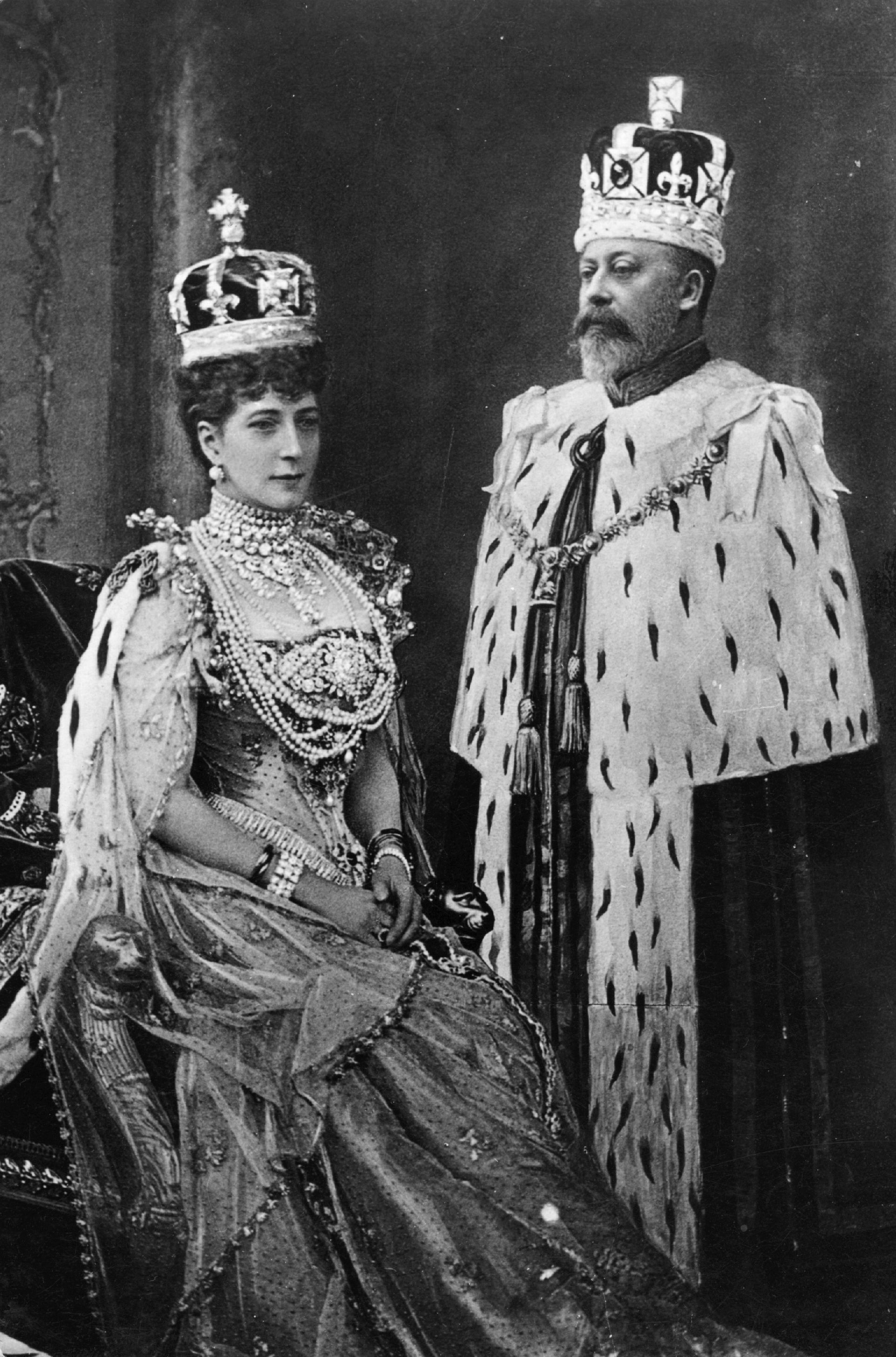 Coronation of Edward VII and Queen Alexandra