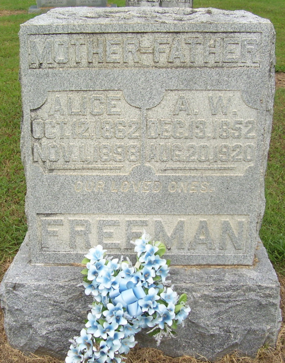 Auswell W Freeman