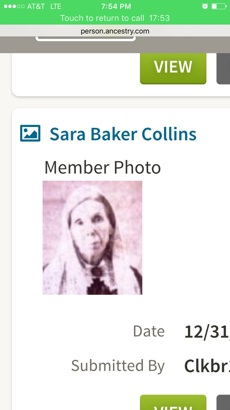 Sarah Ann Baker