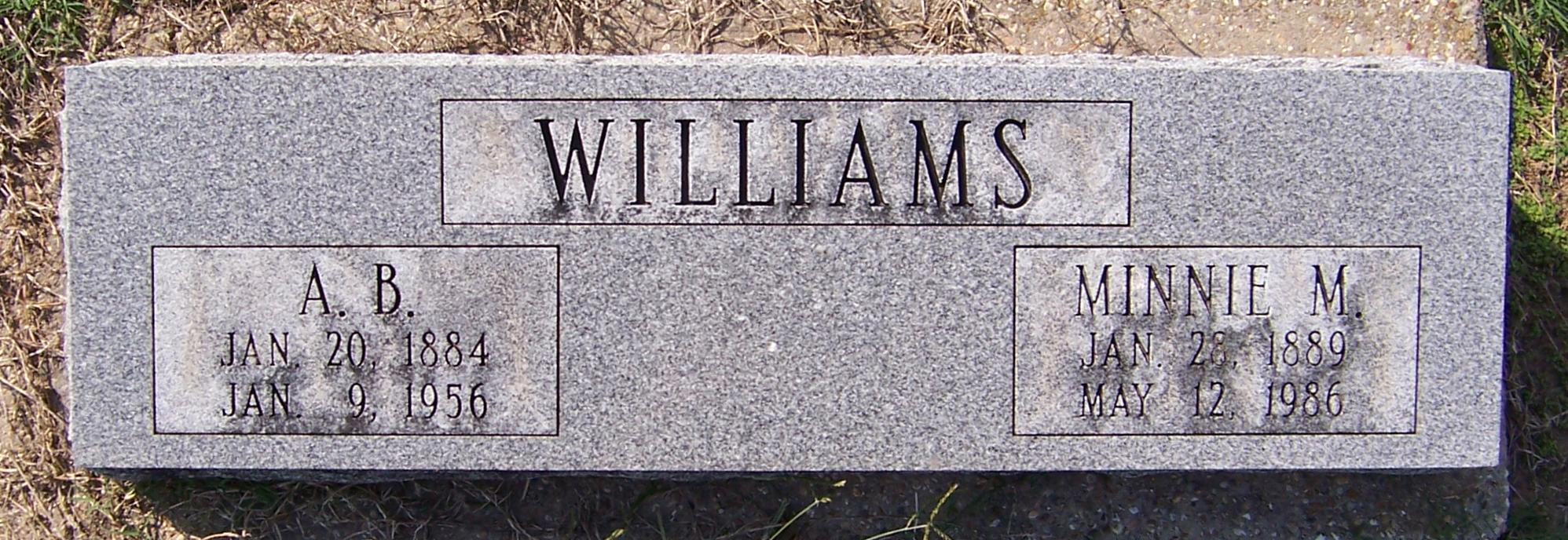 A B Williams