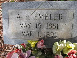 "A Henderson ""Hence"" Embler"