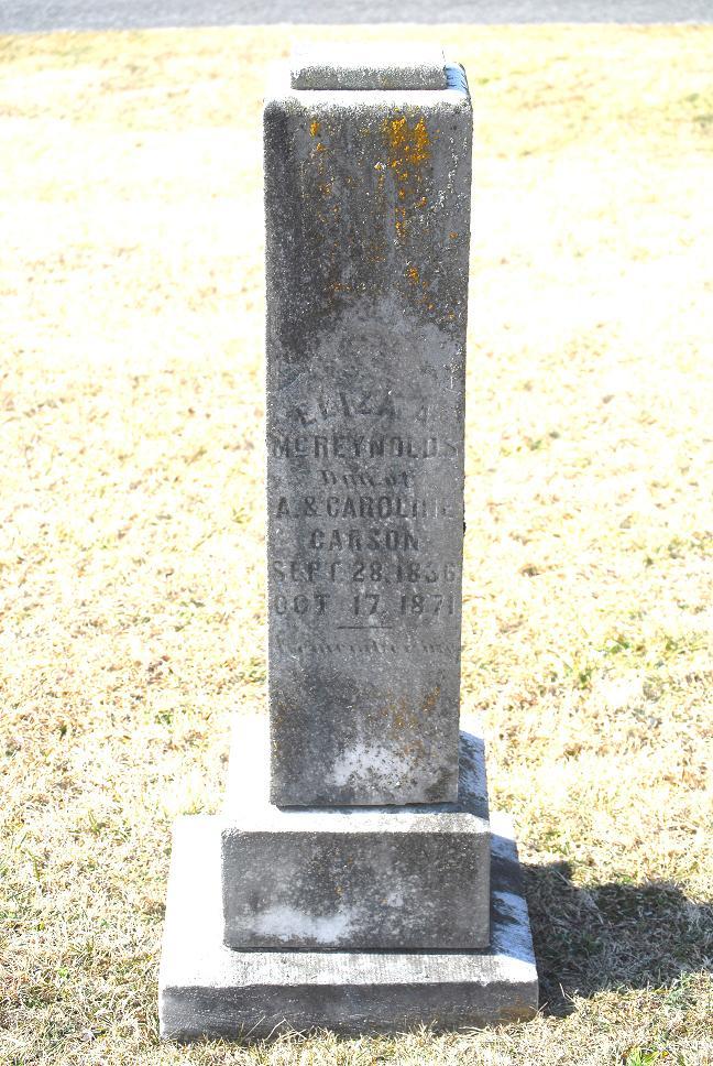 Eliza A Carson