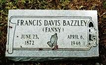 "Frances "" Fannie"" Elizabeth Davis"