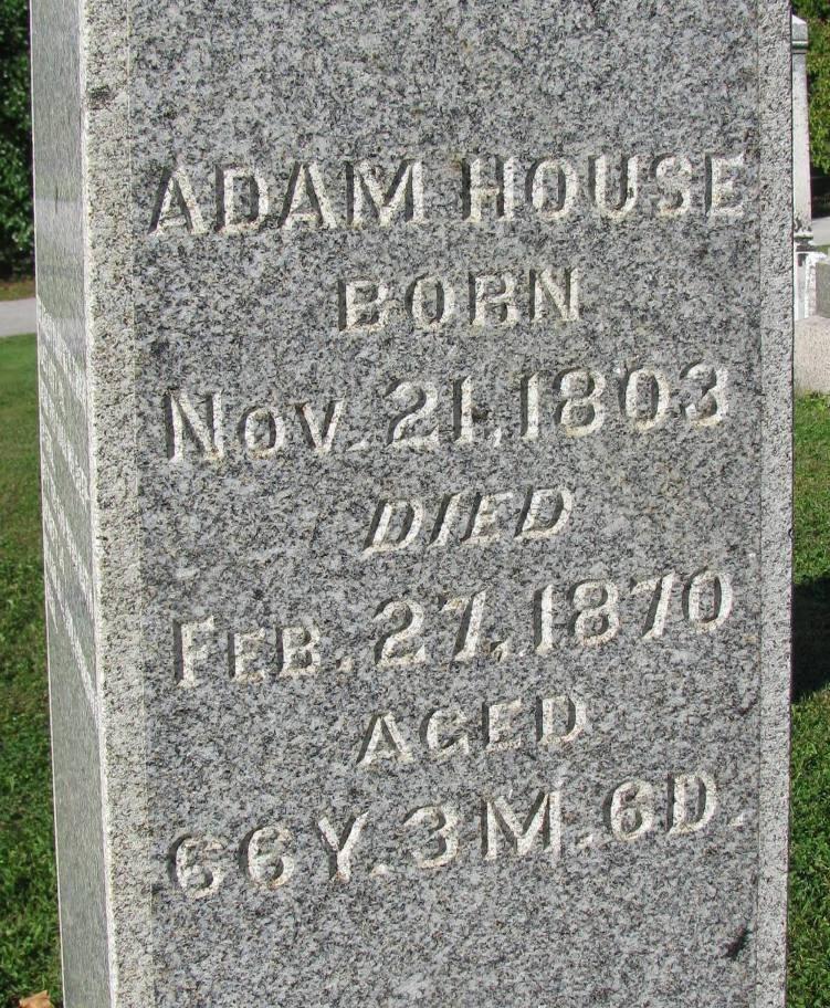 Adam W. House