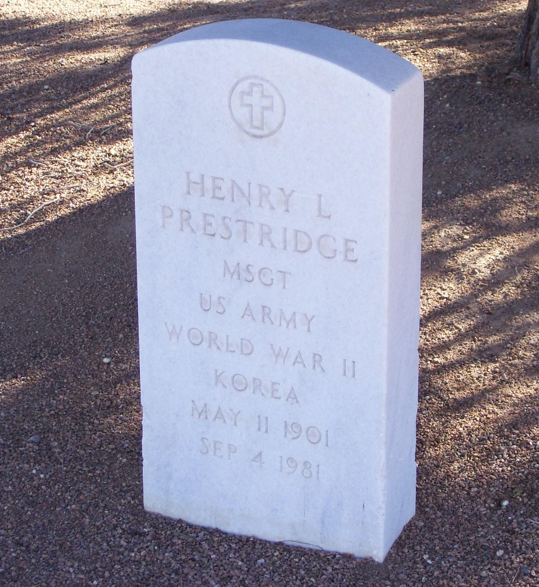 Henry Lee Prestridge