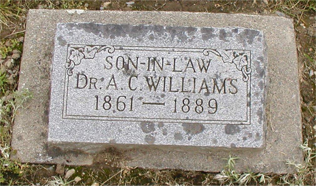 Dr. A. C. Williams
