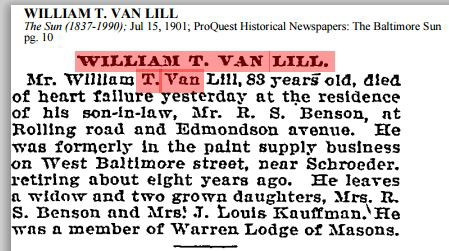 William T. Van Lill