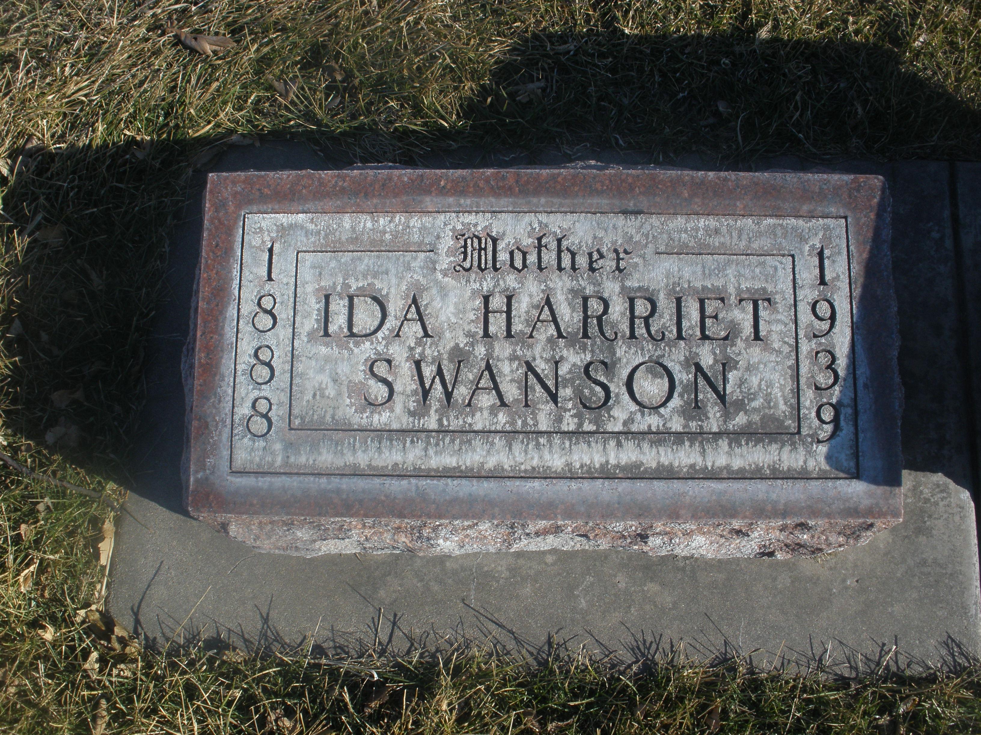 Ida Harriett Bostwick