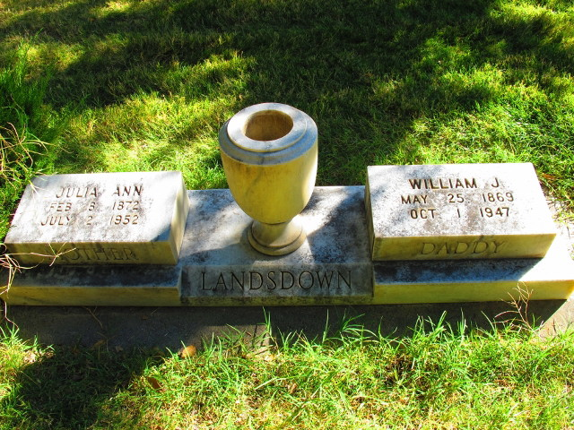 Mary Ann Landsdown