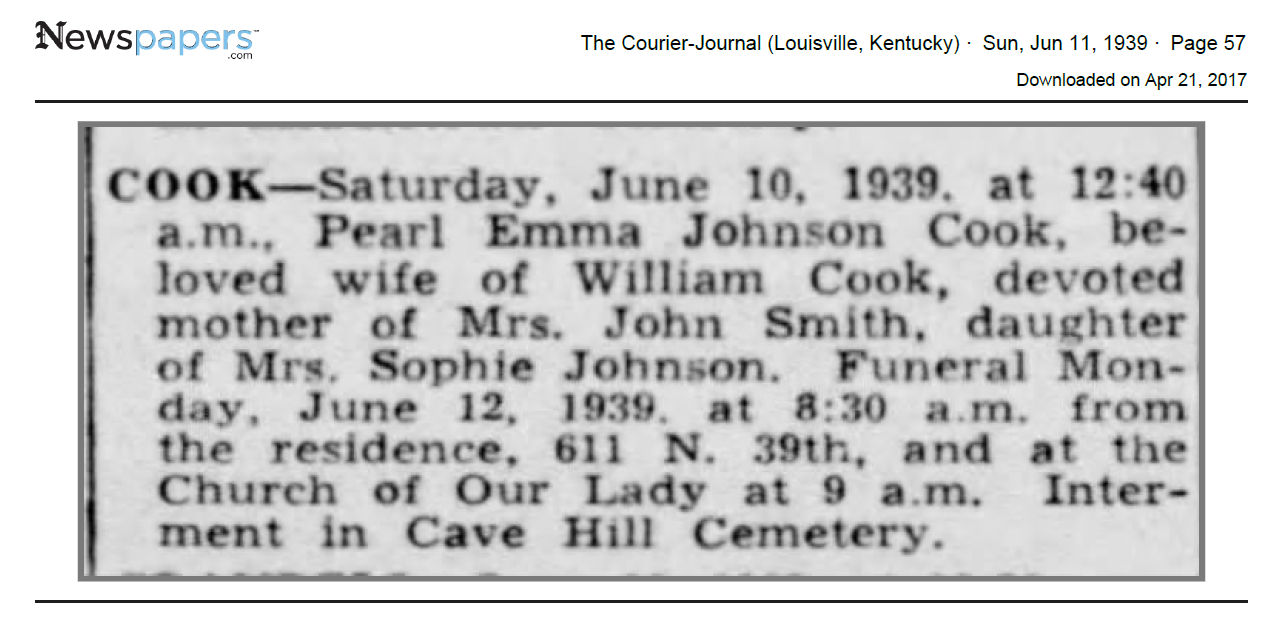 Pearl Emma Johnson