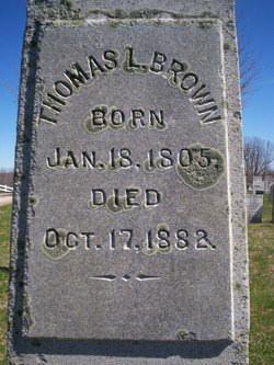 Thomas Leverett Brown