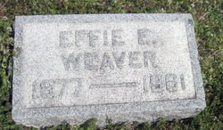 Effie E Weaver