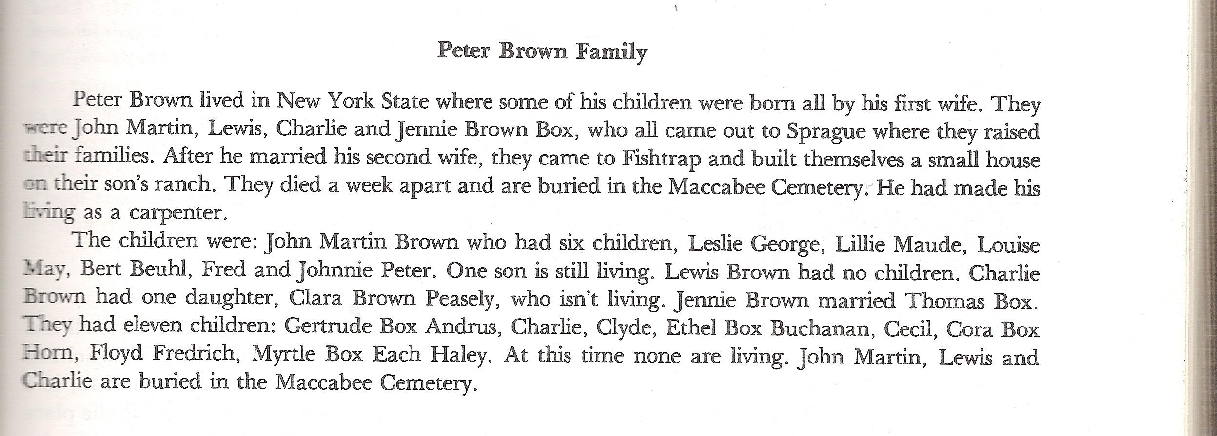 Emma A Brown