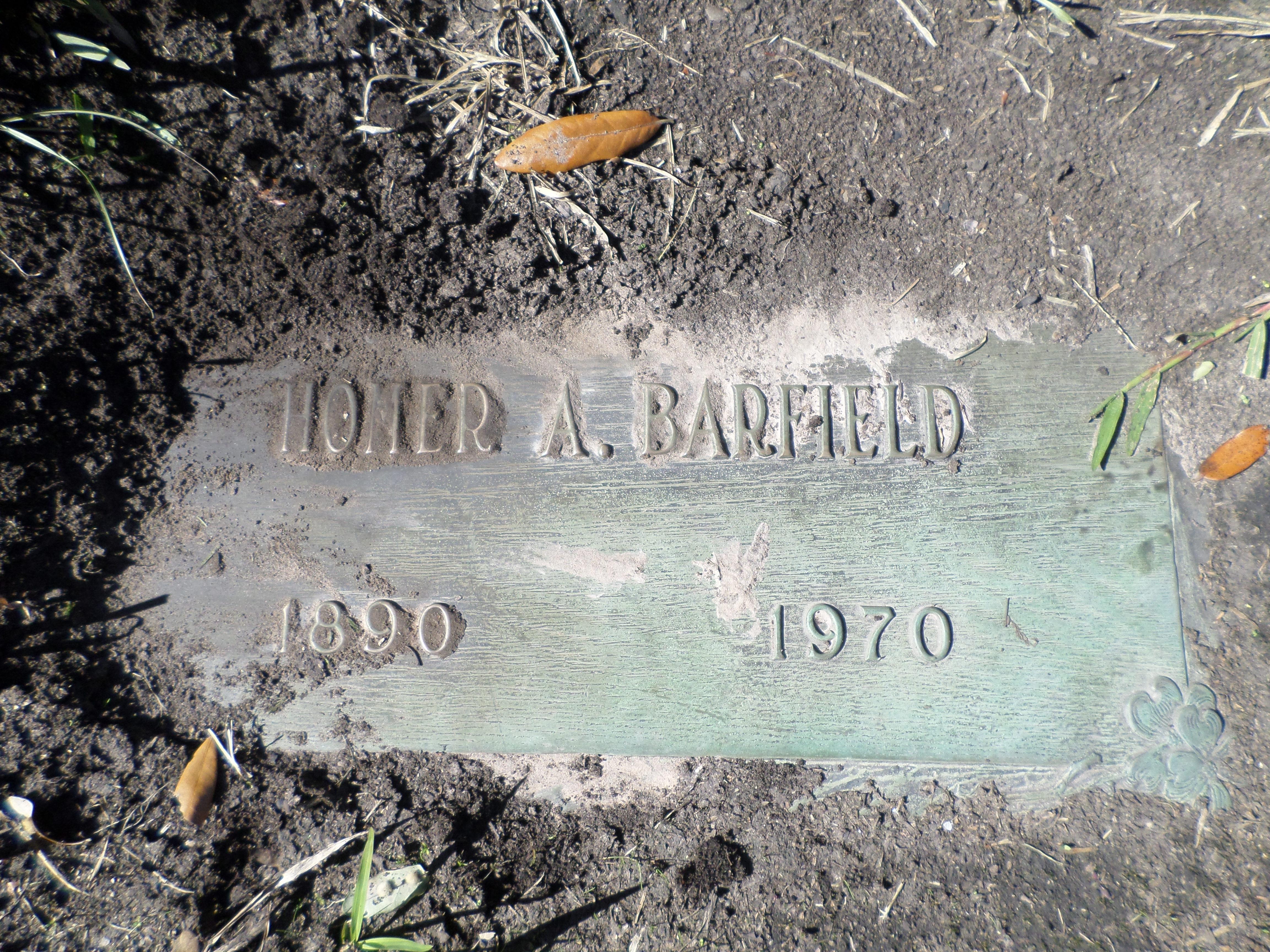 Homer Andrew Barfield