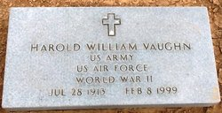 Harold William Vaughn