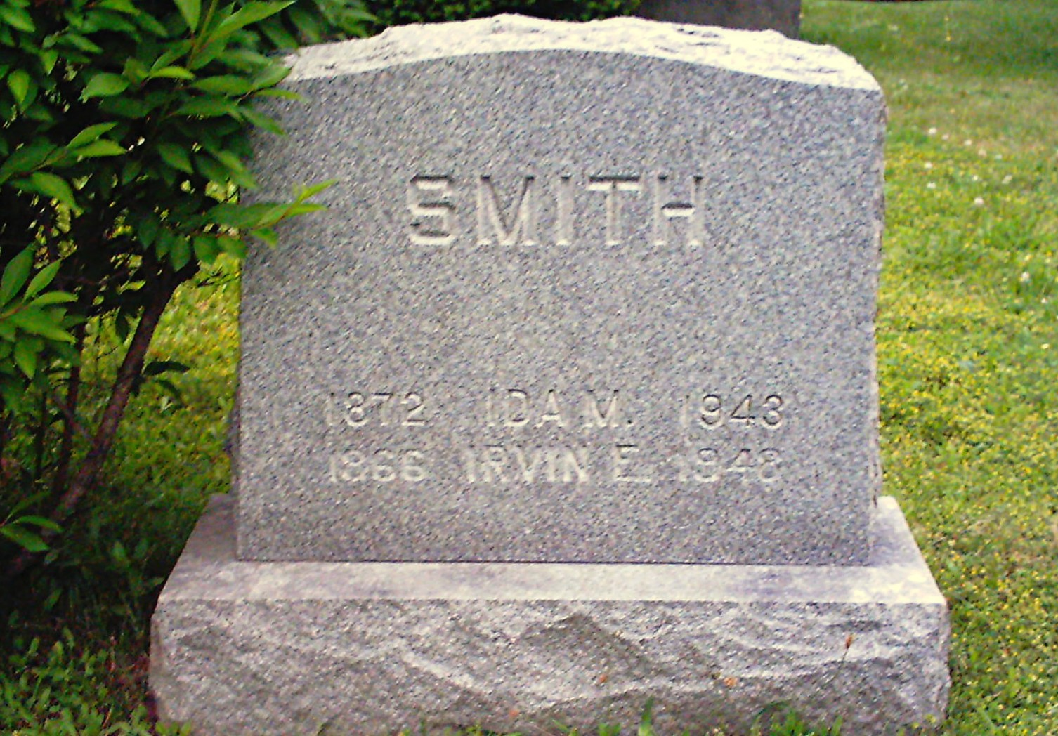 Irvin E Smith