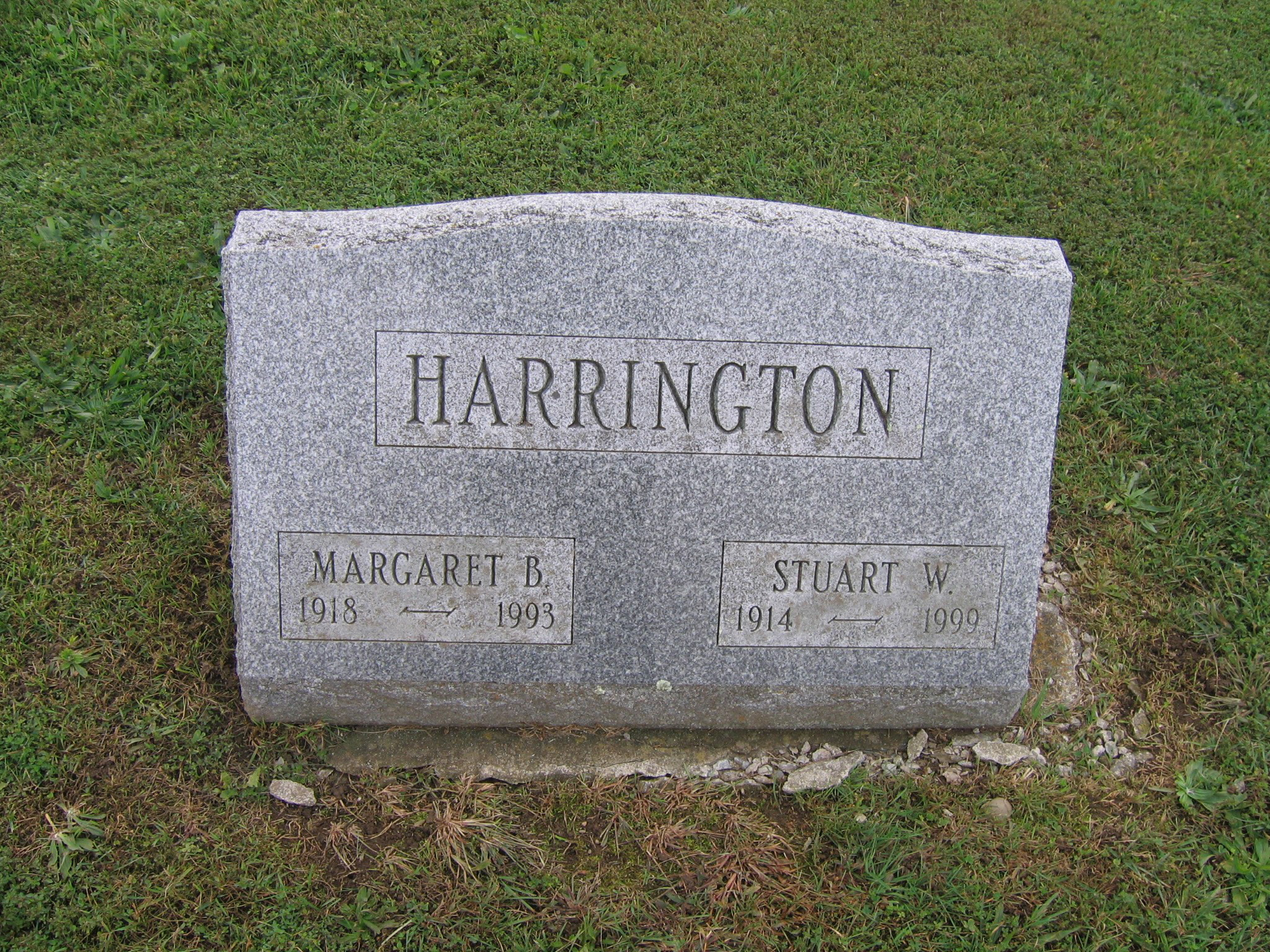 Walter F Harrington