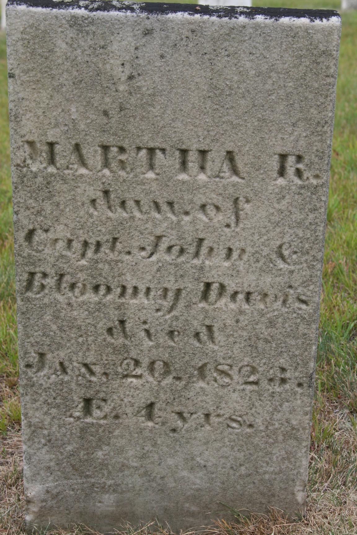 Martha Robberson/Robinson Davis