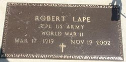Robert W. - WW2/USA - ( s/o William 1877) Lape
