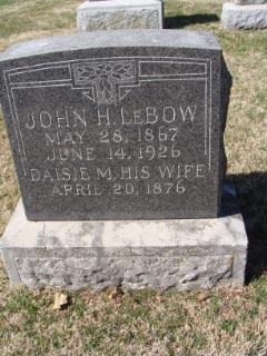 John H Lebow