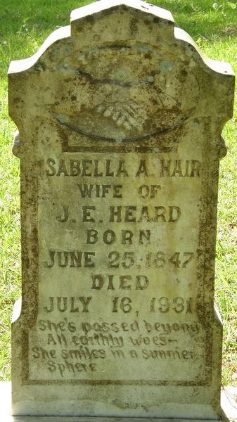 Isabella Antoinette Hair