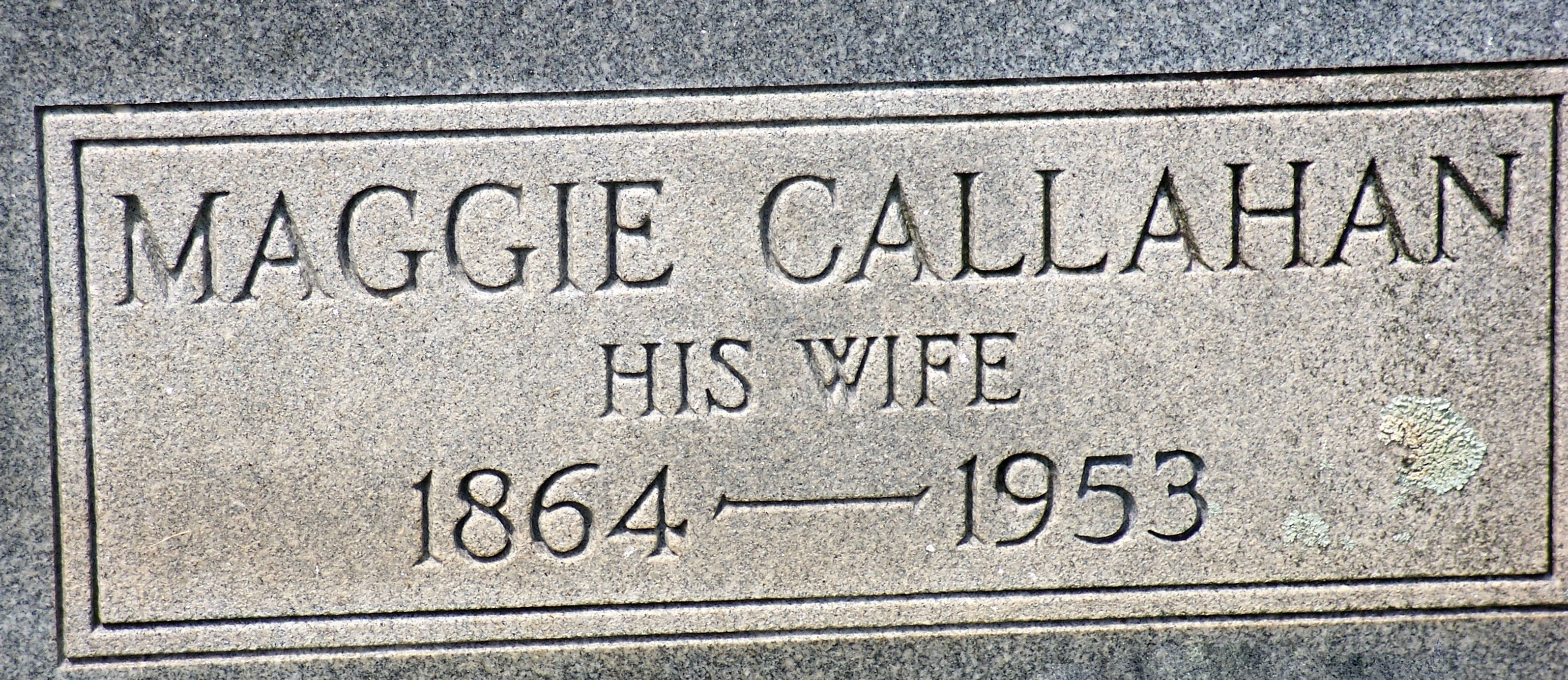 "Margaret Cordelia ""Maggie"" Callahan"