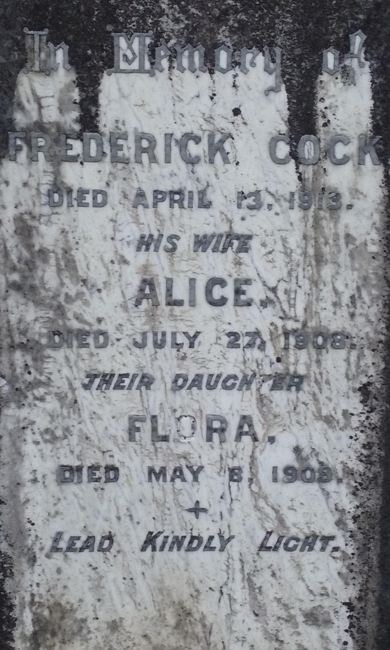 Frederick Cock
