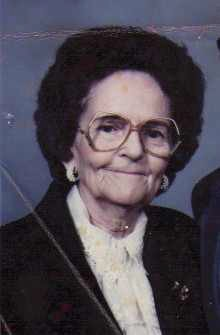 Mildred Irene Stewart
