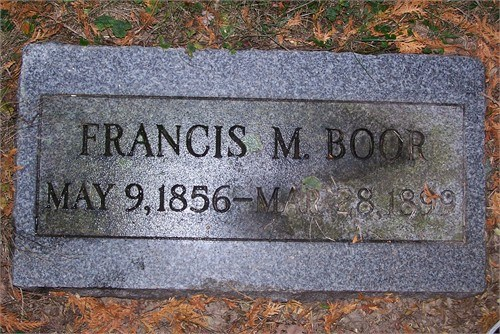 "Francis M ""Doc"" Boor"