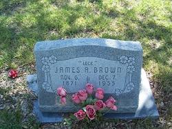 """James Alexander """"Leak"""" Brown"""