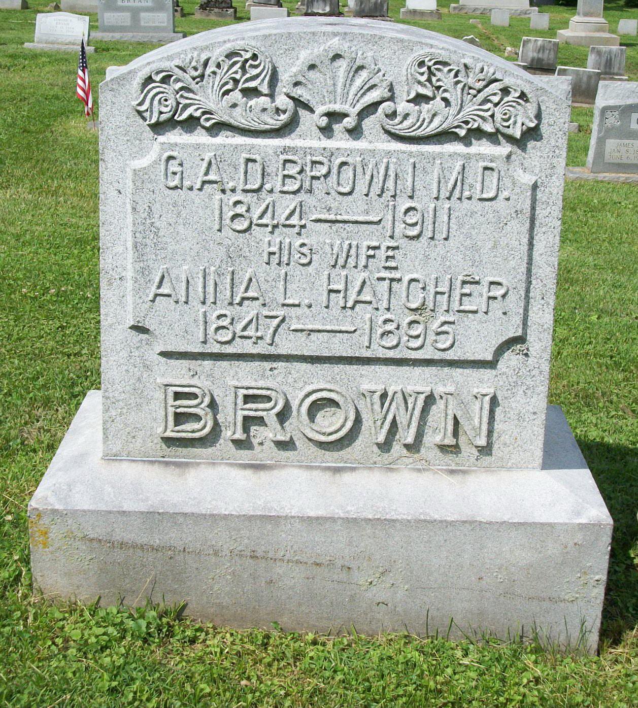 Gabriel A. D. Brown