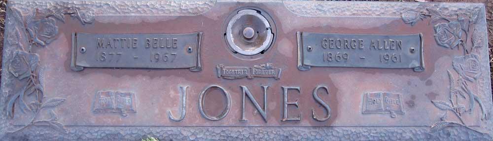 George Allen Jones