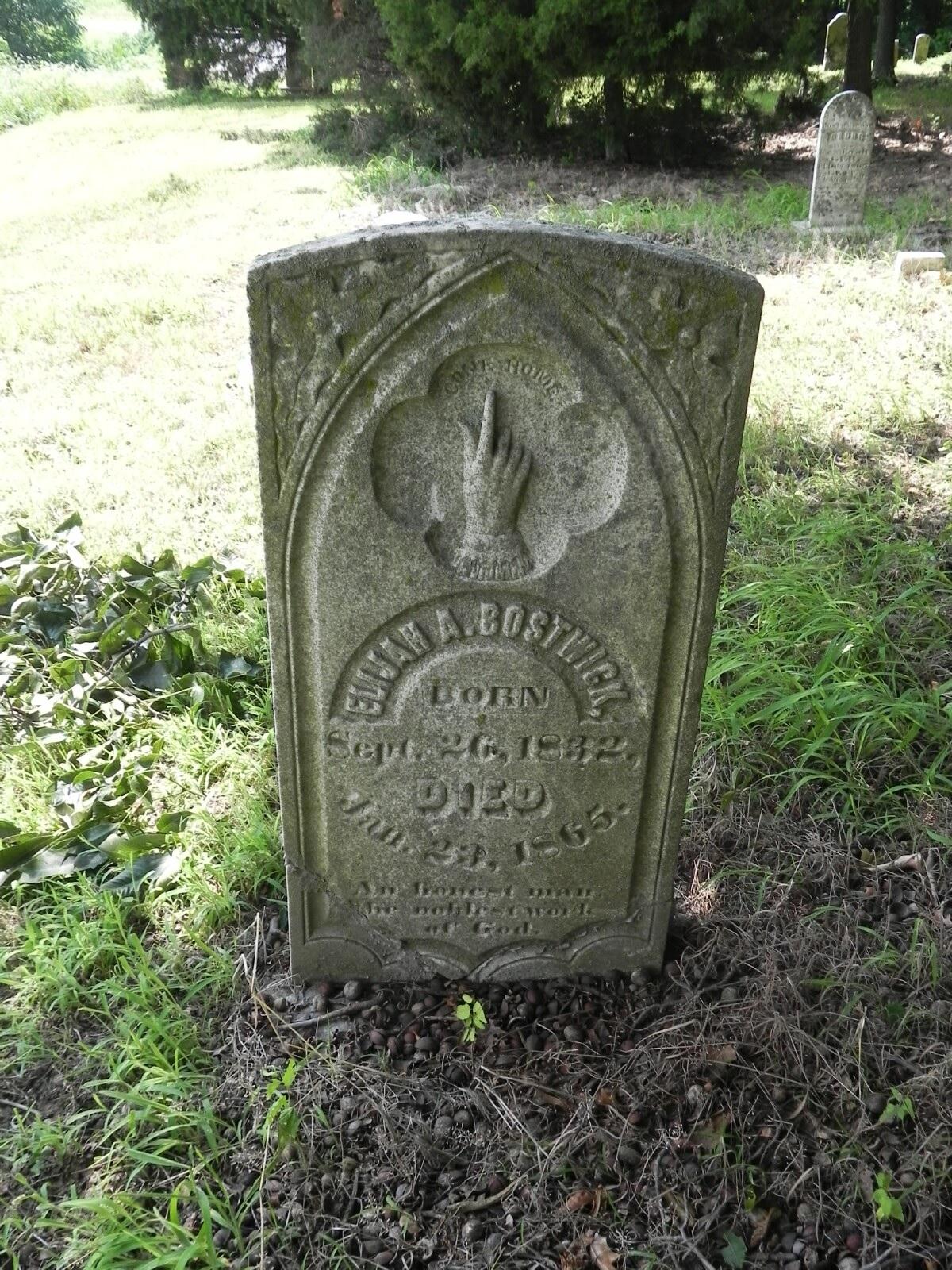 Elijah A. Bostwick