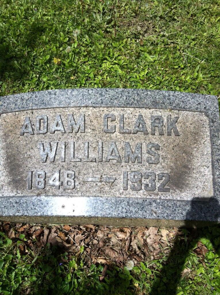 Adam Clark ( A. C.) Williams