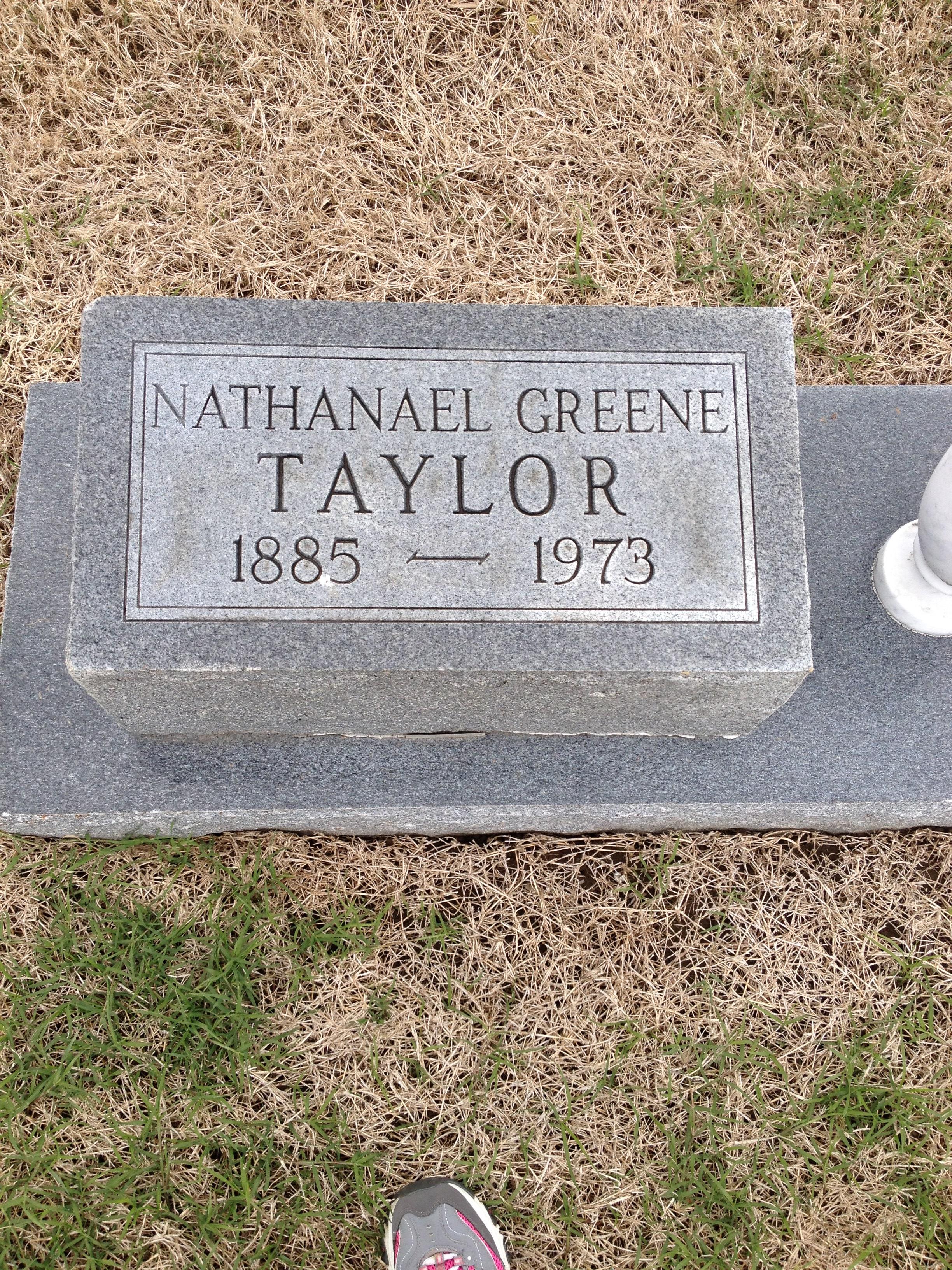 Nathaniel Greene Taylor