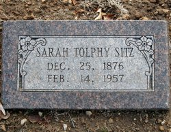 """Sarah Tolphy """"Tollie"""" Terry"""